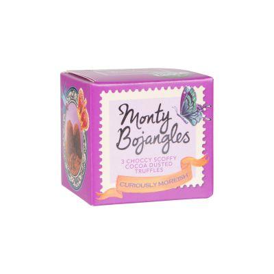 Monty Bojangles Choccy Scoffy Curious Truffles 27g