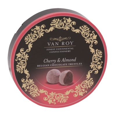 Van Roy Cherry & Almond Chocolate Truffles 120g